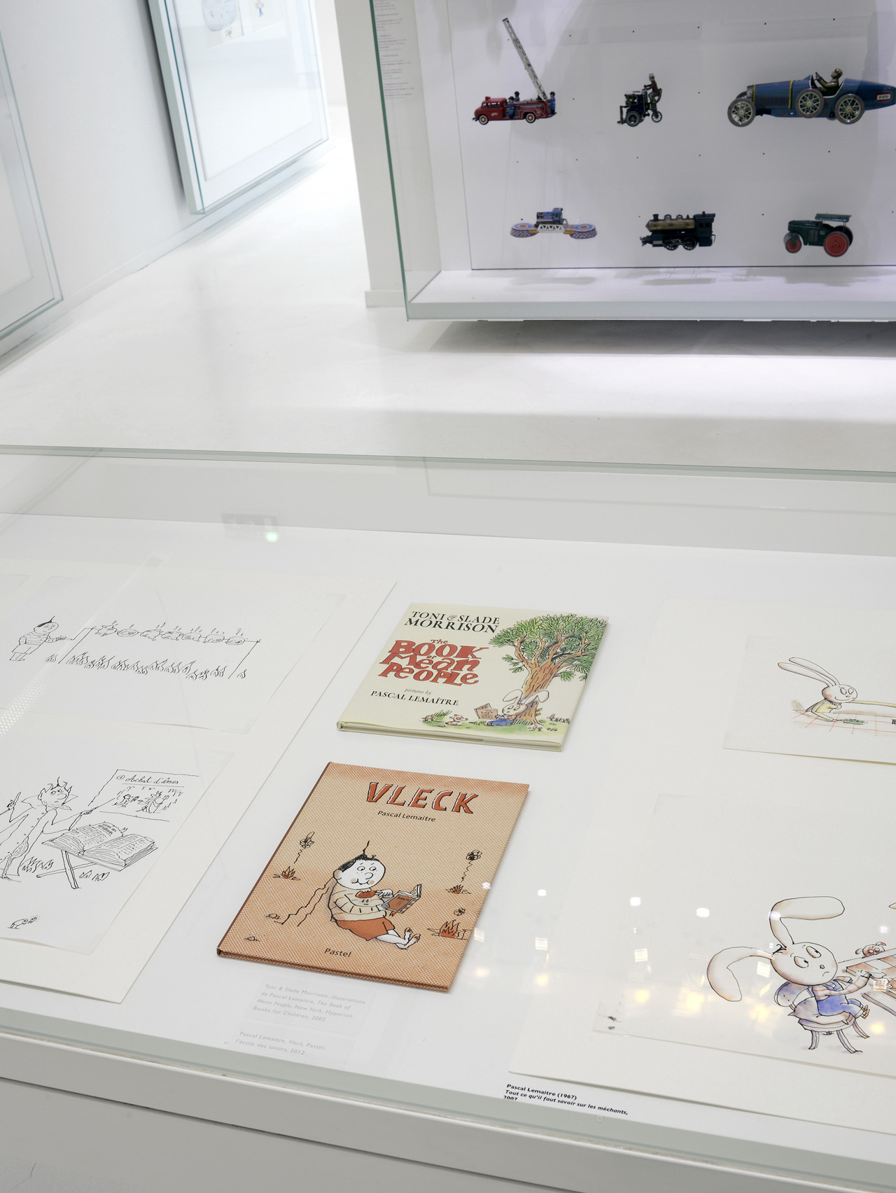 The Book of Mean People, Vleck and Le Petit Cordonnier de Venise exhibited at the Tomi Ungerer Museum/ International Center of Illustration.